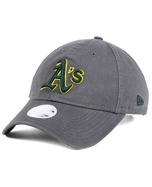 New Era Women s Oakland Athletics Preferred Pick 9TWENTY Strapback ... 846014d173