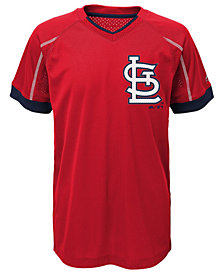Majestic MLB Emergence St. Louis Cardinals T-Shirt, Little Boys(4-7)