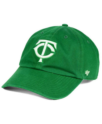 '47 Brand Minnesota Twins Kelly/White Clean Up Cap