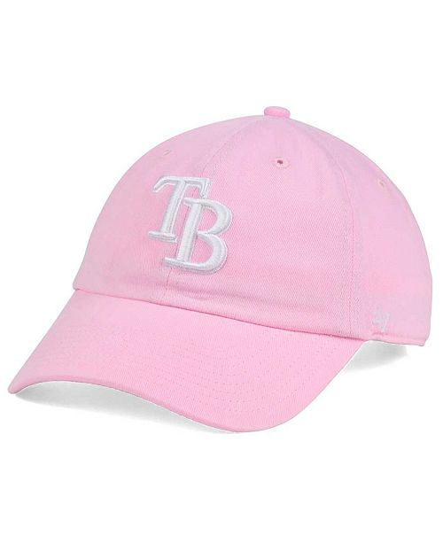 35ebaac5557 47 Brand Women s Tampa Bay Rays Pink White Clean Up Cap   Reviews ...