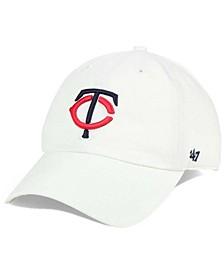 Minnesota Twins White Clean Up Cap