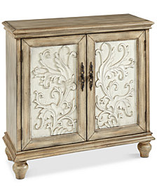 Driscoll 2 Door Cabinet, Quick Ship