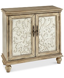 Eryn 2 Door Cabinet, Quick Ship