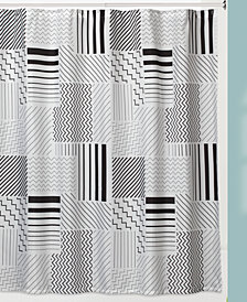 Creative Bath Modern Angles Shower Curtain