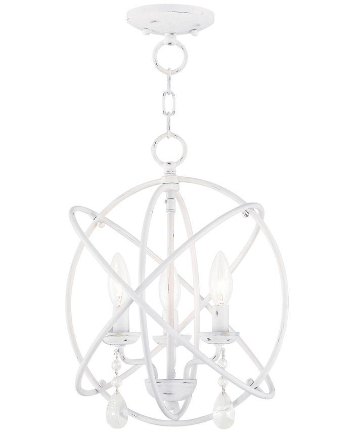 """Livex - Aria 3 Light 15"""" Pendant"""