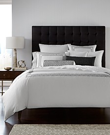 Greek Key Cotton King Duvet Cover, Created for Macy's