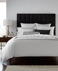 Hotel Collection Greek Key Cotton Twin Duvet Cover, Created for Macy's