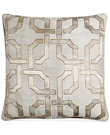 "Fresco 20"" Square Decorative Pillow, Created for Macy's"