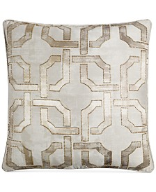 "Hotel Collection Fresco 20"" Square Decorative Pillow, Created for Macy's"