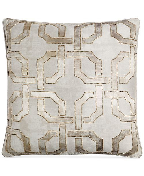 Hotel Collection Fresco 40 Square Decorative Pillow Created For Delectable Hotel Collection Decorative Pillows