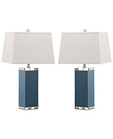 Safavieh Set of 2 Deco Table Lamps