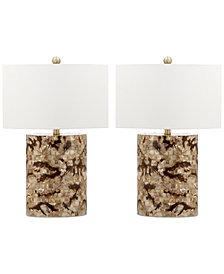 Safavieh Set of 2 Zuni Table Lamps