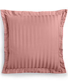 CLOSEOUT! Charter Club Damask Stripe European Sham, 100% Supima Cotton 550 Thread Count , Created for Macy's