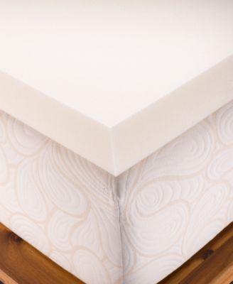 "CLOSEOUT! 1.5"" Memory Foam Twin Mattress Topper"