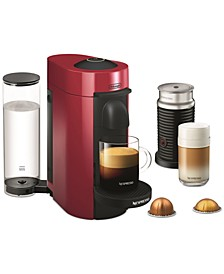 by De'Longhi VertuoPlus Coffee and Espresso Machine with Aerocinno