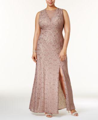 Plus Size Lace Gowns