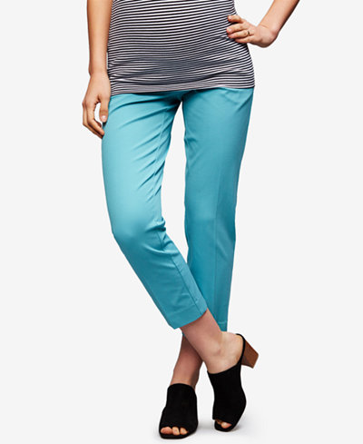 A Pea In The Pod Maternity Straight-Leg Pants