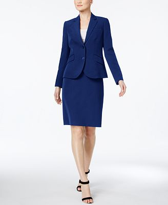 Anne Klein Executive Collection 3 Pc Pants And Skirt Suit Set