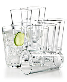 Martha Stewart Essentials 12-Pc. Large Tumblers Set, Created for Macy's