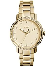 Women's Neely Gold-Tone Stainless Steel Bracelet Watch 35mm ES4289