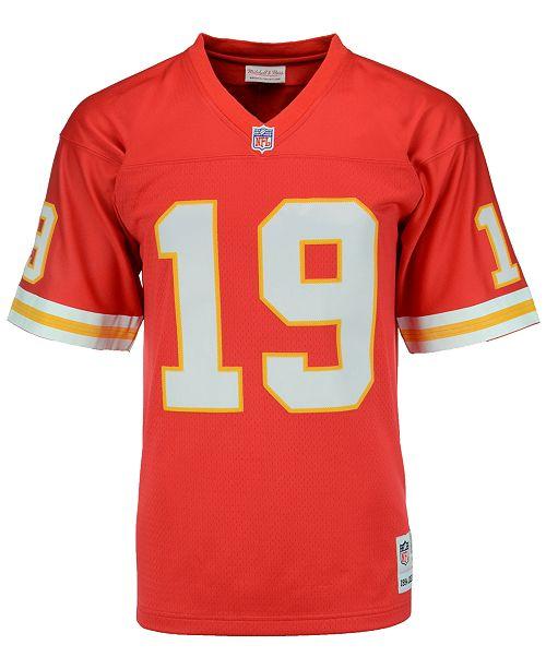 06b38fb7d Mitchell   Ness Men s Joe Montana Kansas City Chiefs Replica Throwback  Jersey ...
