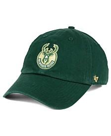 '47 Brand Milwaukee Bucks Clean Up Cap