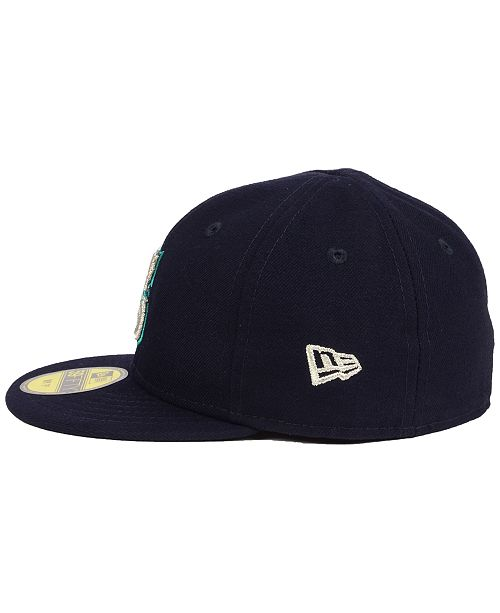 13505fed Seattle Mariners Authentic Collection My First Cap, Baby Boys