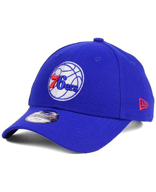 uk availability 3224f f7856 New Era Kids  Philadelphia 76ers League 9FORTY Adjustable Cap ...