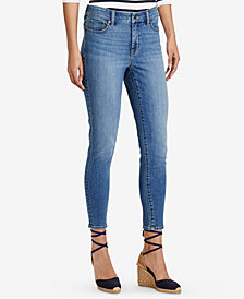 Lauren Ralph Lauren Premier Skinny Crop Jeans