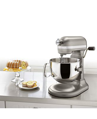 kitchenaid kp26m1xacs architect 6 qt. stand mixer, created for