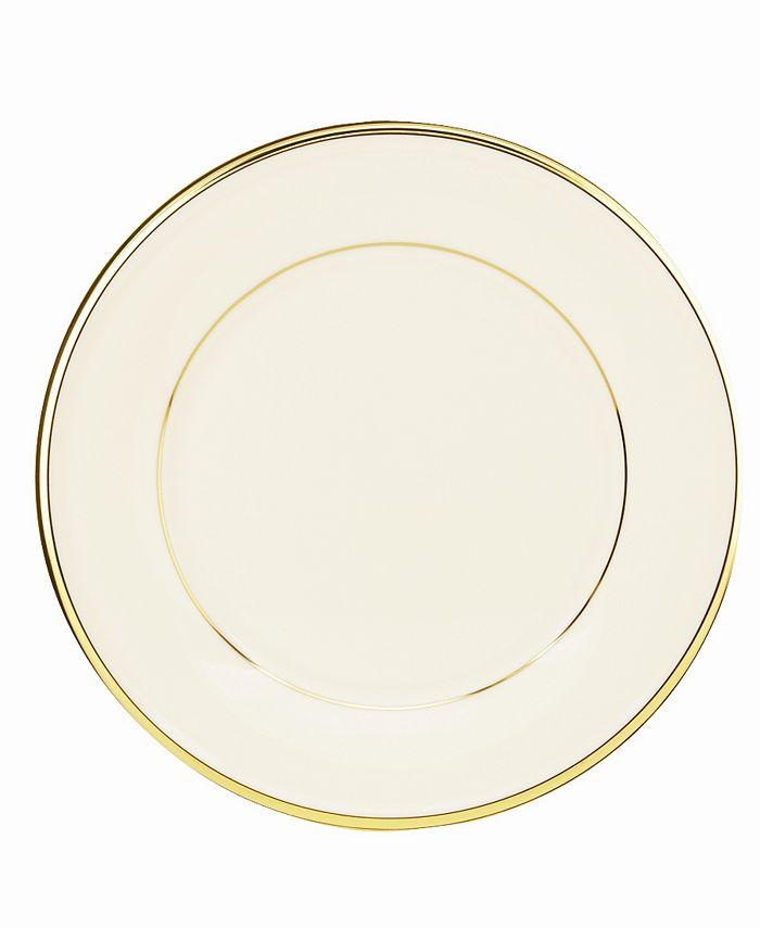 "Lenox - ""Eternal"" Salad Plate"