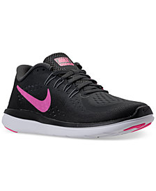 Nike Women's Flex 2017 Run Running Sneakers from Finish Line