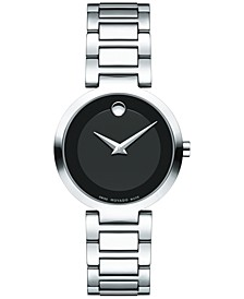 Women's Swiss Modern Classic Stainless Steel Bracelet Watch 28mm 0607101