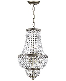 Amoret 4-Light Platinum Chandelier