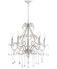 Safavieh Darwin 5-Light Crystal Chandelier