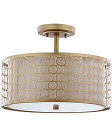 Safavieh Giotta Gold-Tone Ceiling Lamp