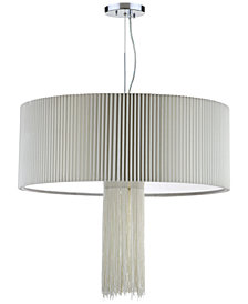 Safavieh Schroom Chrome-Finish Pendant