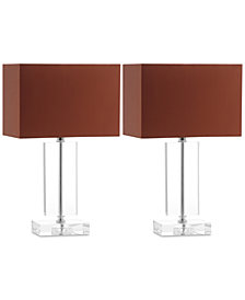 Safavieh Set of 2 Art Modern Table Lamps