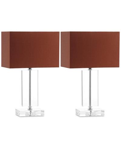 Safavieh Set of 2 Art Modern Table Lamps