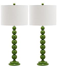 Safavieh Set of 2 Irene Table Lamps