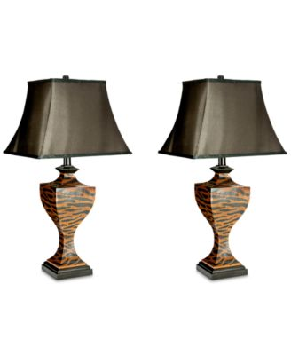 Safavieh Set Of 2 Sahara Safari Table Lamps