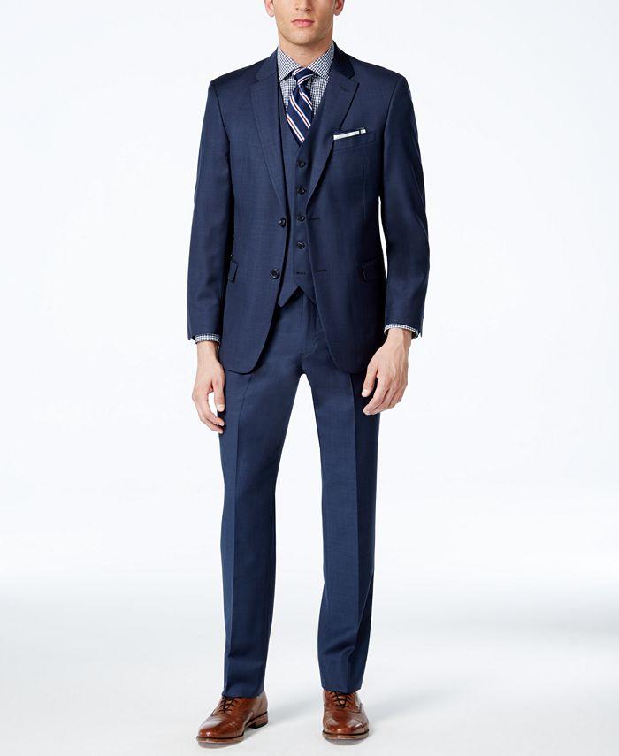 Tommy Hilfiger - Sharkskin Modern-Fit Suit Separates