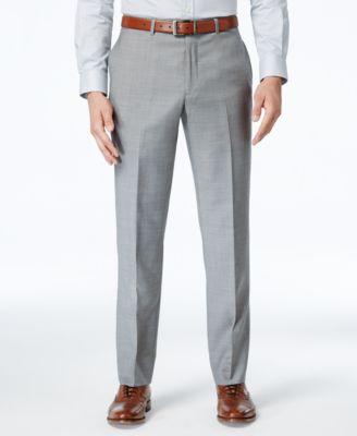 Tommy Hilfiger Mens Flat-Front Suit Separate Pant Tommy Hilfiger Marcraft Apparel TYLER