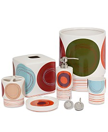 Creative Bath Dot Swirl Bath Collection