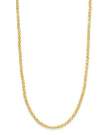 "Giani Bernini 20"" Sparkle Link Chain Necklace in Sterling Silver, Created for Macy's"