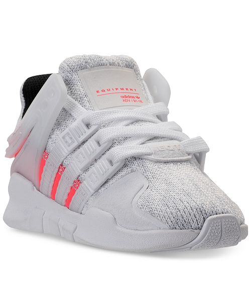 low priced 91946 20334 adidas Toddler Boys' EQT ADV Casual Athletic Sneakers from ...