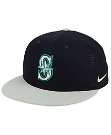 Nike Seattle Mariners Aero True Structured Velcro Cap