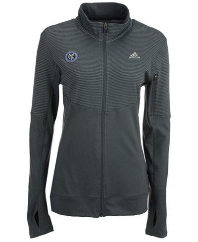 adidas Women's New York City FC Full-Zip Jacket