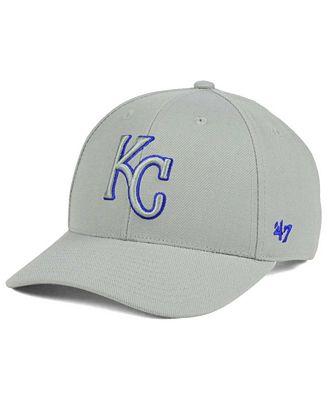 '47 Brand Kansas City Royals MVP Gray TC Pop Cap