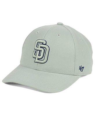 '47 Brand San Diego Padres MVP Gray TC Pop Cap